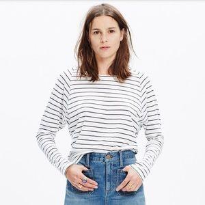 Madewell Long Sleeve Striped Shirt